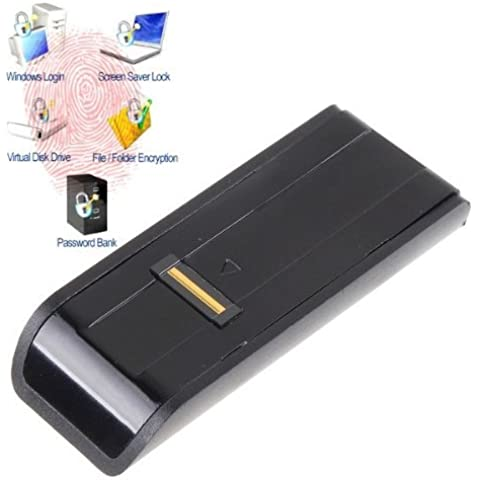Seguridad USB lector biométrico de huellas dactilares contraseña de seguridad para portátil PC,