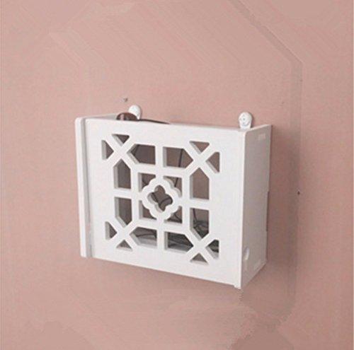 Appendere Contenitori decorativi stoccaggio scatole Set-Top Boxes appeso a parete rack Punch-Free Router wireless,parete di piccole dimensioni in stile cinese Routers