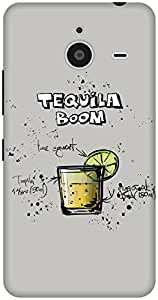 The Racoon Lean Gray Tequila Boom hard plastic printed back case / cover for Microsoft Lumia 640 XL