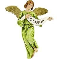 Bertoni Angel figurine, multicolore, Legno, Multi-colour, 10 cm