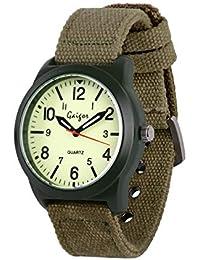 Gaigor Adolescente Niños Hombres Relojes de Pulsera Deportivos 42MM Gran Caja de Reloj, Reloj de