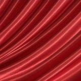 Satin Stoff B1 schwer entflammbar Meterware Rot