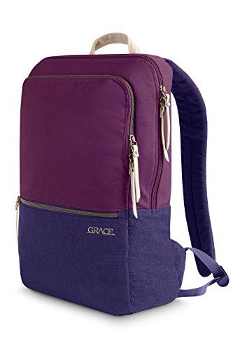 STM Grace Damen-Rucksack für Laptops bis zu 15Zoll–Nachthimmel (stm-111–144p-44) dunkelviolett