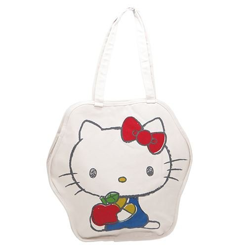 Hello Kitty Sanrio Apple (Sanrio Hallo Kitty Die Cut-Einkaufstasche Kitty und Apple)