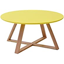 Amazon.fr : table basse scandinave - Jaune