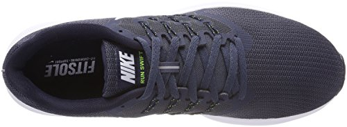 Nike Herren Run Swift Laufschuhe Blau (Thunder Blue/white/volt/obsidi 403)