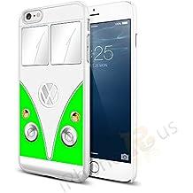 Volkswagen Camper Van Snap-on Hard Back Case para Apple iPhone 66S por iPhone R Us®, verde, Apple iPhone 6 6s