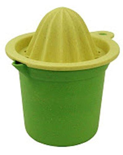 zuperzozial Zirtuspresse mit 250ml Becher Lemon yellow / Wasabi green