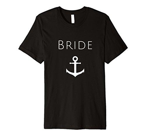 Anker Braut T-Shirt, weiß