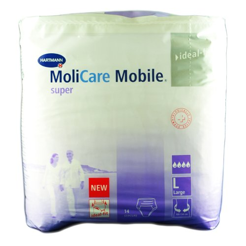 Hartmann MoliCare Mobile® super L 1x14 Stk.