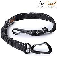 Hunde-Sicherheitsgurt fürs Auto MIT Ruck-Dämpfung | ISOFIX-Befestigung | Hundegurt Autogurt | Sicherheitsgeschirr Hundegeschirr elastisch Dämpfer | Anschnallgurt Hund Autositz, Rücksitz, Hundebox