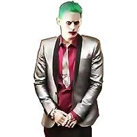 """Inception Pro Infinite"""", (Talla L) Traje de Traje Joker Chaqueta Camisa Pant Tie Wig Carnival Halloween Cosplay Batman Suicide Squad Jared Film Idea Regalo para Hombre Niño Adultos,"""
