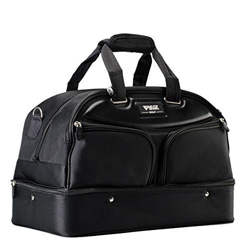 SHENMINJ PGM Golf Reisetasche,Golf-Kleidungs-Tasche Tragbare Tasche Doppelschichten Taschen Hohe Kapazität Eingebaute Schuhtasche Multifunktionstasche