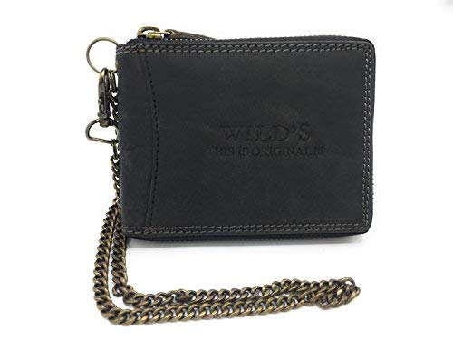 0d77527cc6a01 WILD this is original - ShoppingDay - Cartera para hombre marrón negro