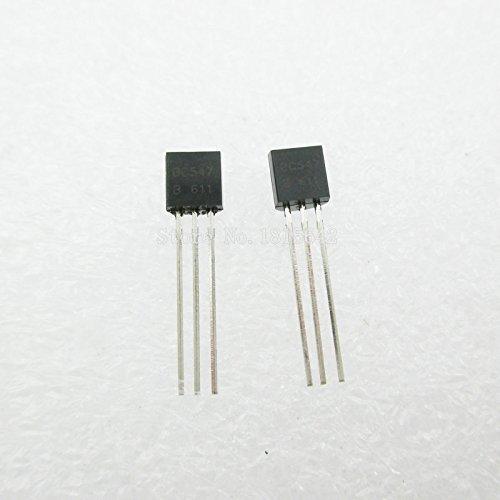 100PCS/Lot BC547B BC547 100MA 45V TO-92 Transistor