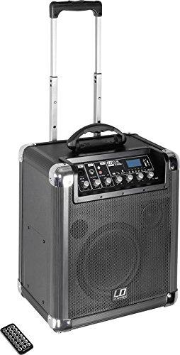 LD Systems LDRJ10 Roadjack 10 - Batteriegespeister Bluetooth-Lautsprecher mit Mixer schwarz