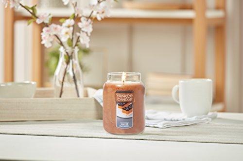 Yankee Candle Duftkerze im Glas, Duft: Salted Caramel, braun, L