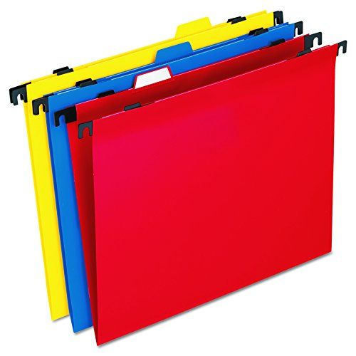 Pendaflex 99917 2in1 farbige Polymer-Ordner mit integrierten Taben, Brief, sortiert (Pendaflex Brief)