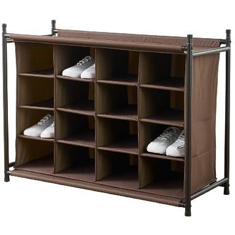neatfreak 5632-E 16 Compartment Shoe Organizer by (Neatfreak Organizer)