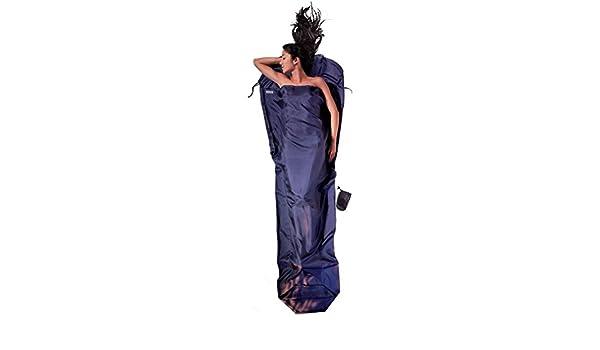 Cocoon Drap de sac Rectangulaire ST24-RS 100/% Soie Ripstop Coloris bleu
