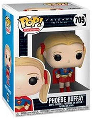 Funko Pop Phoebe Buffay vestida Supergirl (Friends 705) Funko Pop Friends