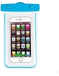 KUN PENG SHOP Général peut toucher le paquet de pluie sac de bain de lumière de nuit étanche à chaud étanche jeux de plongée de téléphone A+