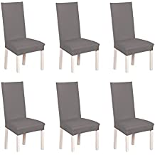 SD Maket Belle Vie 6 Pcs Universelle Housse De Chaise Elastique Extensible Pour Decoration