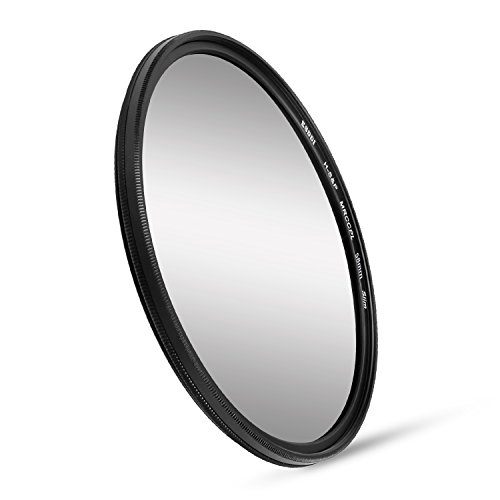 ESDDI 58mm Polfilter Zirkularer Polarisationsfilter Slim CPL Filter