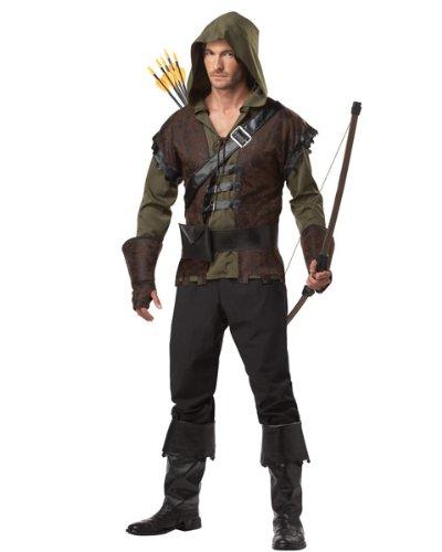 Für Erwachsene Kostüm Robin - Generique - Robin Hood Kostüm für Erwachsene M (40/42)