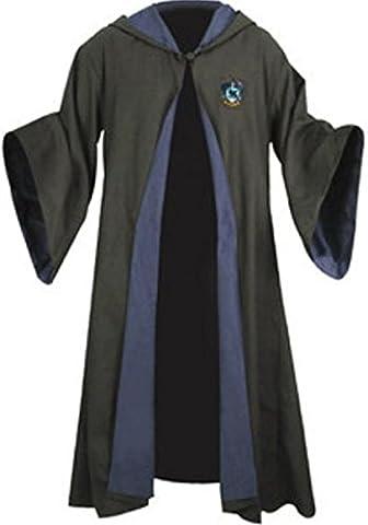 Harry Potter Kostüm Jünger Erwachsene Gryffindor Slytherin Ravenclaw Hufflepuff Adult Child Unisex Schule lange Umhang Mantel Robe--Ravenclaw,XL for (Harry Potter Umhang)