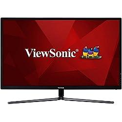 "ViewSonic VX3211-mh Moniteur IPS 32"" Full HD 1920x1080 Pixels, 3ms, HDMI, Haut-parleurs, Noir"