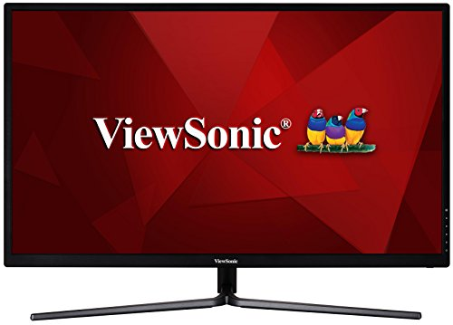 Viewsonic VX3211-MH 80,1 cm (32 Zoll) Design Monitor (Full-HD, IPS-Panel, HDMI, Lautsprecher) Schwarz - 1080p Computer-monitor