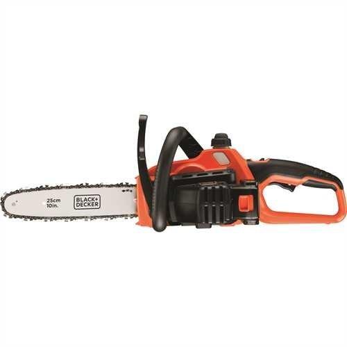 Black+Decker Li Ion Akku-Kettensäge 18V GKC1825L20 mit Akku und Ladegerät / Ideal für Holz- & Gartenarbeiten / 25 cm Schwertlänge - 3