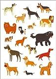 Poster 50 x 70 cm: Hunderassen von Kidz Collection/Editors Choice - hochwertiger Kunstdruck, Kunstposter