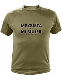 Camiseta de Caza, Me Gusta Cuando mi Mujer me Deja IR a Cazar (30170