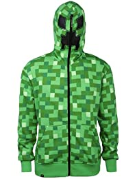 Minecraft Creeper – Zip Up capuche