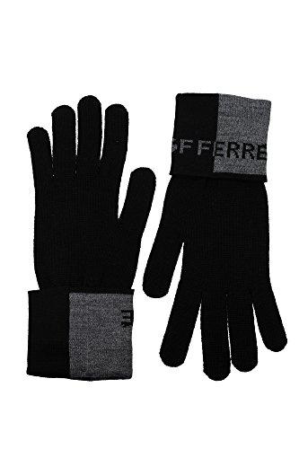 guanti-gianfranco-ferre-uomo-lana-nero-e-grigio-695f0ie81900v001-nero-unica