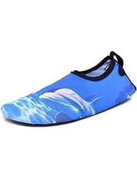 Bangbei Scarpe Unisex per Tutta la Famiglia Donna Uomo Acqua Mare Spiaggia Palestra Yoga Sport