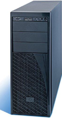 Intel P4304XXSFCN Estante Negro 365W carcasa de ordenador - Caja de ordenador (Estante, Servidor, ATX, Negro, 4U, 80+, RoHS, CE, Energy Star)