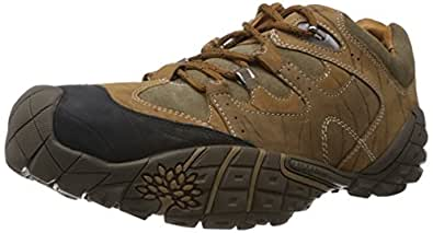 Woodland Men's Tobacco Leather Sneakers - 10 UK/India (44 EU)