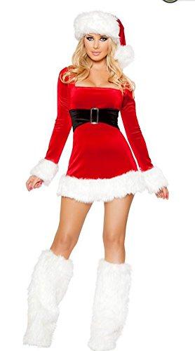 One School Kostüm Piece Girl - FENGHAO Sexy Fräulein Womens Fancy Dress Outfit Frau Weihnachten Kostüm