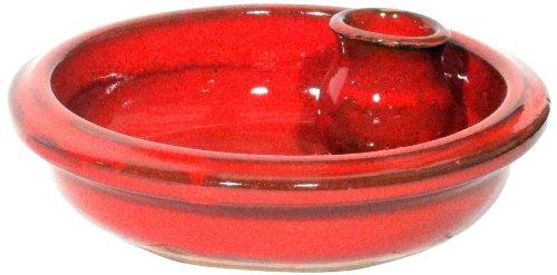 Amazing Cookware Plat à Olives en Terre Cuite Rouge