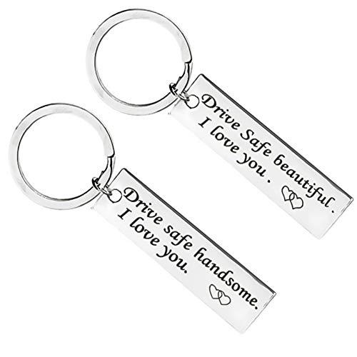 DCFVGB Schlüsselring Benutzerdefinierte Mode Keychain Geschenk Messer Drive Sicherheit Keychain Set Freund Freundin Schmuck Keychain -