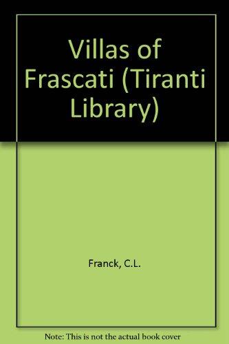 Villas of Frascati (Tiranti Library)