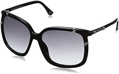 Michael Kors - Gafas de sol Oversized M2882S para mujer, Black  frame / Black lens (001)