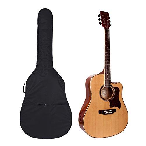 """41\"""" Gitarrentasche,Gitarre Taschen Guitar Gig Bag Für Akustikgitarre und Klassikgitarren Rucksack Design Gitarrenzubehör"""