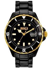 Mango A68352B5P - Reloj para mujeres, correa de plástico color negro