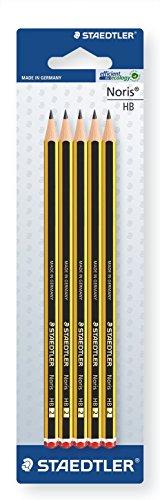 Staedtler Noris - Lápiz (HB, 5 unidades) width=
