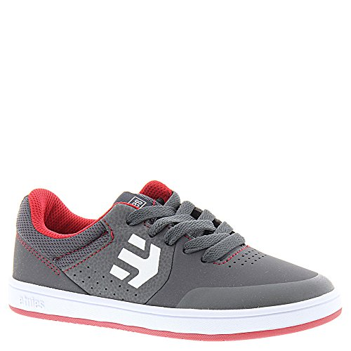 Etnies Kids Marana, Chaussures de Skateboard Mixte Enfant, Noir Grey/Red/White