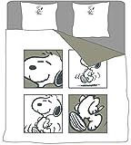 SNOOPY Peanuts -Bettwäsche, Bettwäsche mit 2
